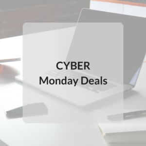 the next phase of amazing deals…..CYBER MONDAY!